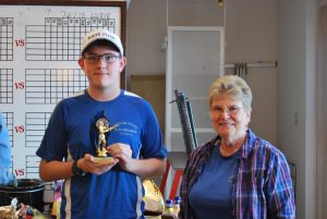 Steven Sloan honored as Most Improved Shooter 2016